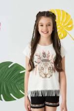 Kız Çocuk Tişört 8S4019Z4